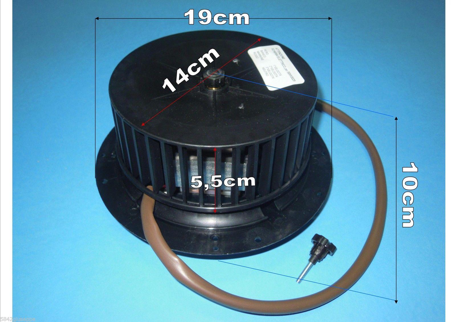 Forniture elettriche per motori for Motore cappa aspirante
